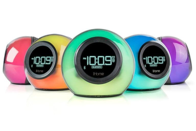 IHOME BLUETOOTH COLOR CHANGING DUAL ALARM CLOCK
