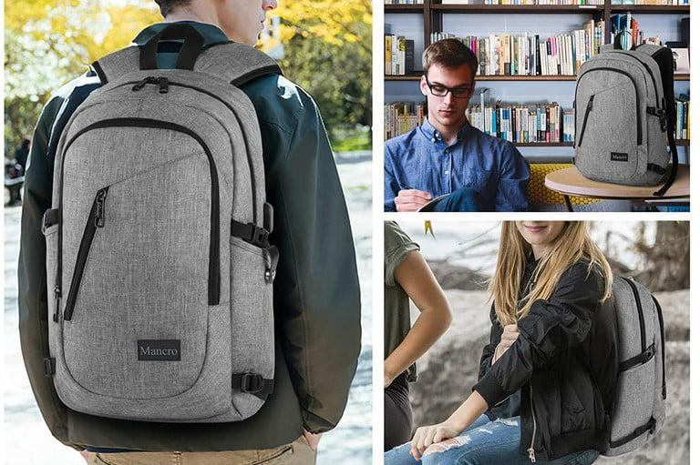 MANCRO BUSINESS AND SCHOOL BACKPACK